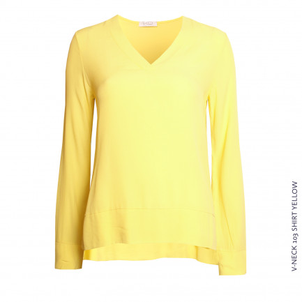 V Neck 103 Yellow