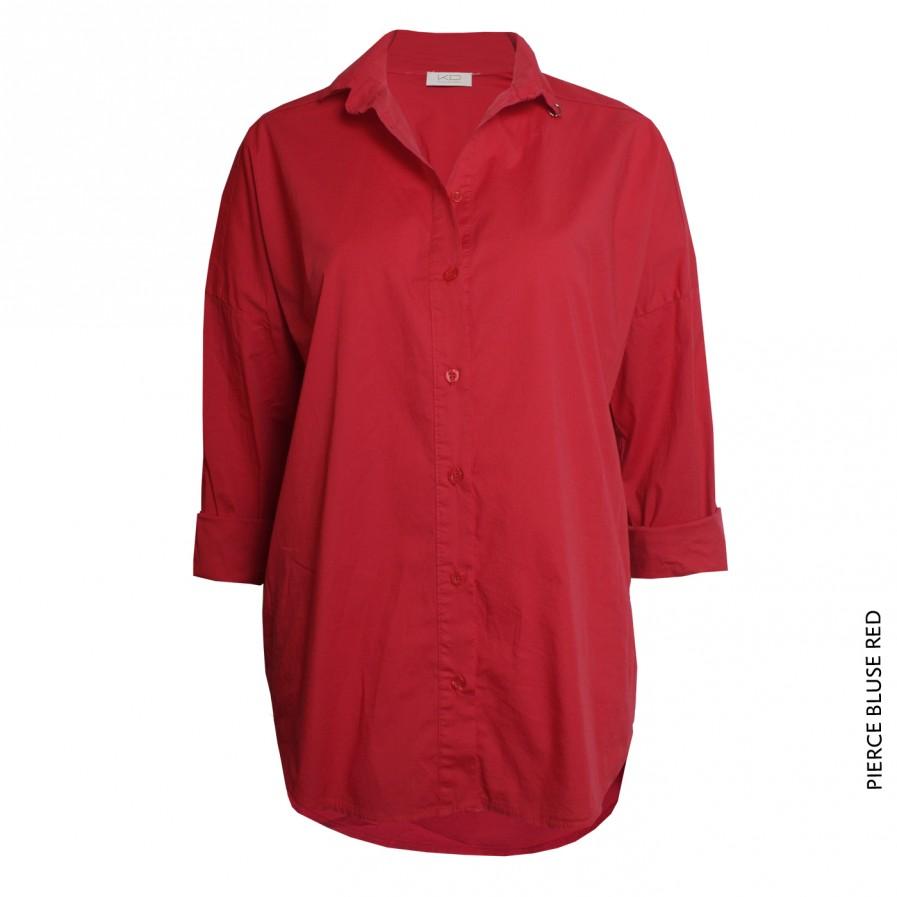 Pierce Bluse Red