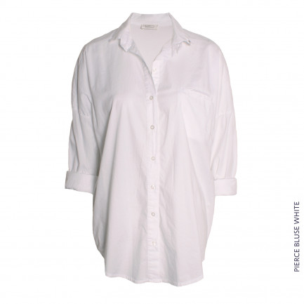 Pierce Bluse White