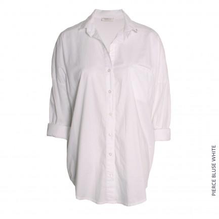 Pierce Bluse White