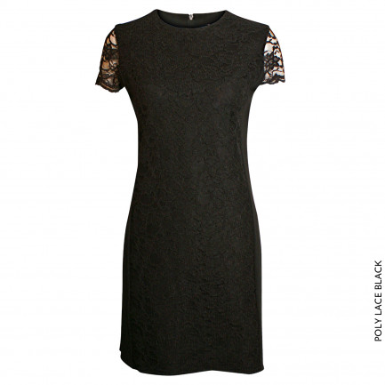 Kd Klaus Dilkrath Polly Kleid Lace Black