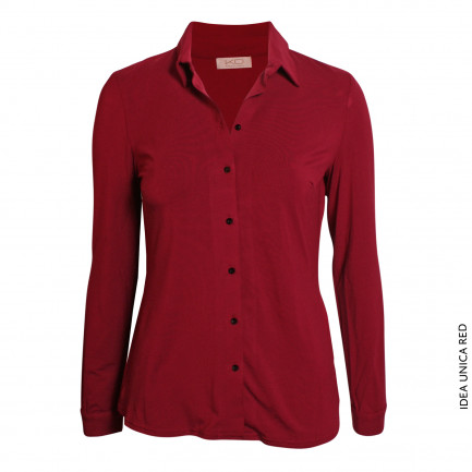Kd Klaus Dilkrath Idea Bluse Unica Red