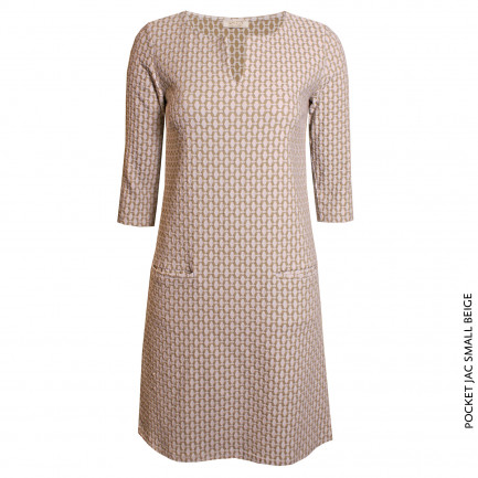 Kd Klaus Dilkrath Pocket Jac Kleid Small Beige