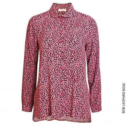 Kd Klaus Dilkrath Bob Bluse Leopard Rose