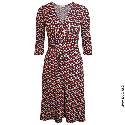 Kd Klaus Dilkrath Livia Kleid Duo Red