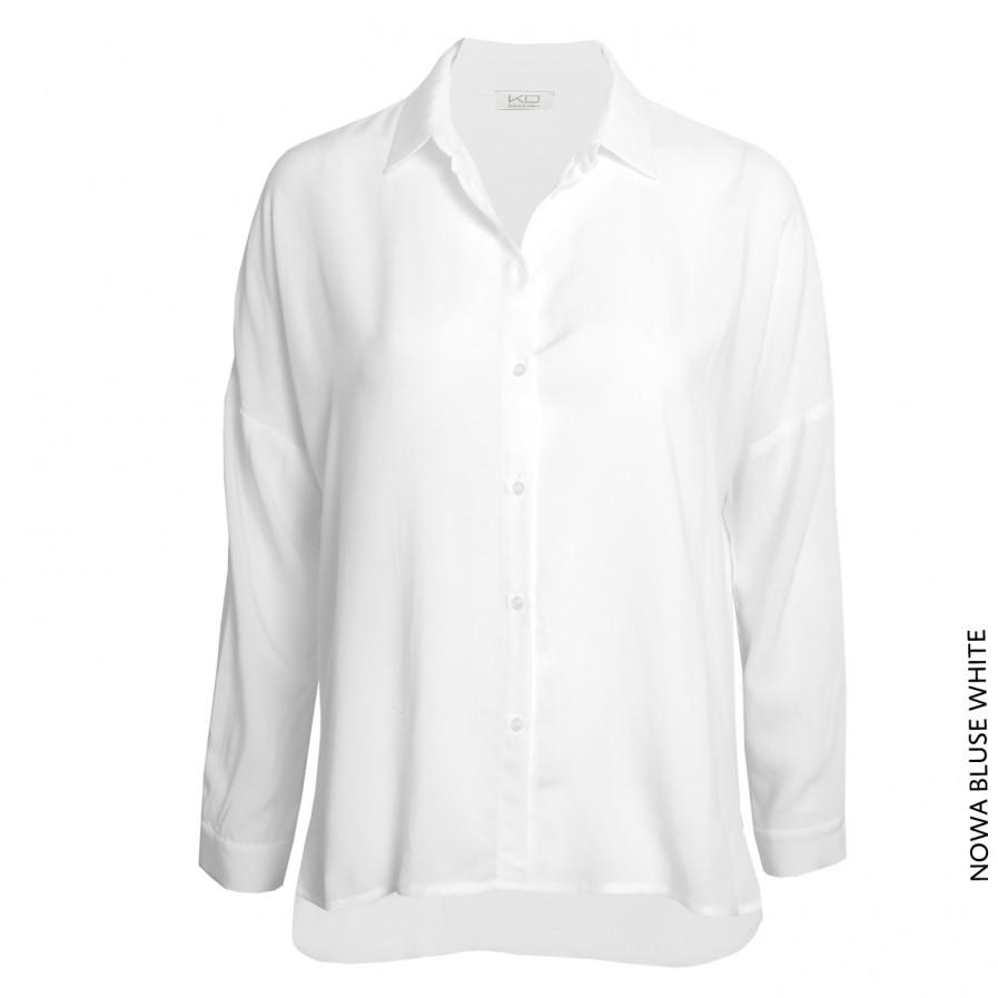 Kd Klaus Dilkrath Nowa Bluse White