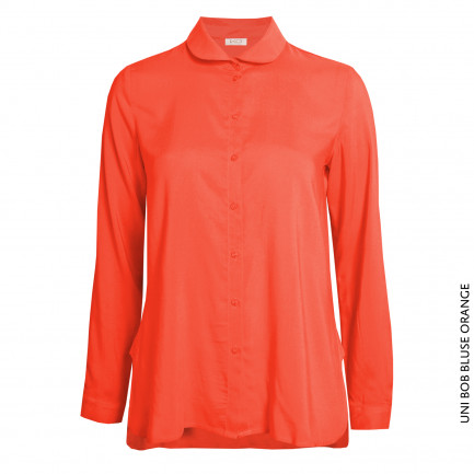 Kd Klaus Dilkrath Uni Bob Bluse Orange