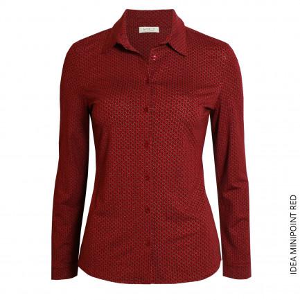 Kd Klaus Dilkrath Idea Bluse Minipoint Red