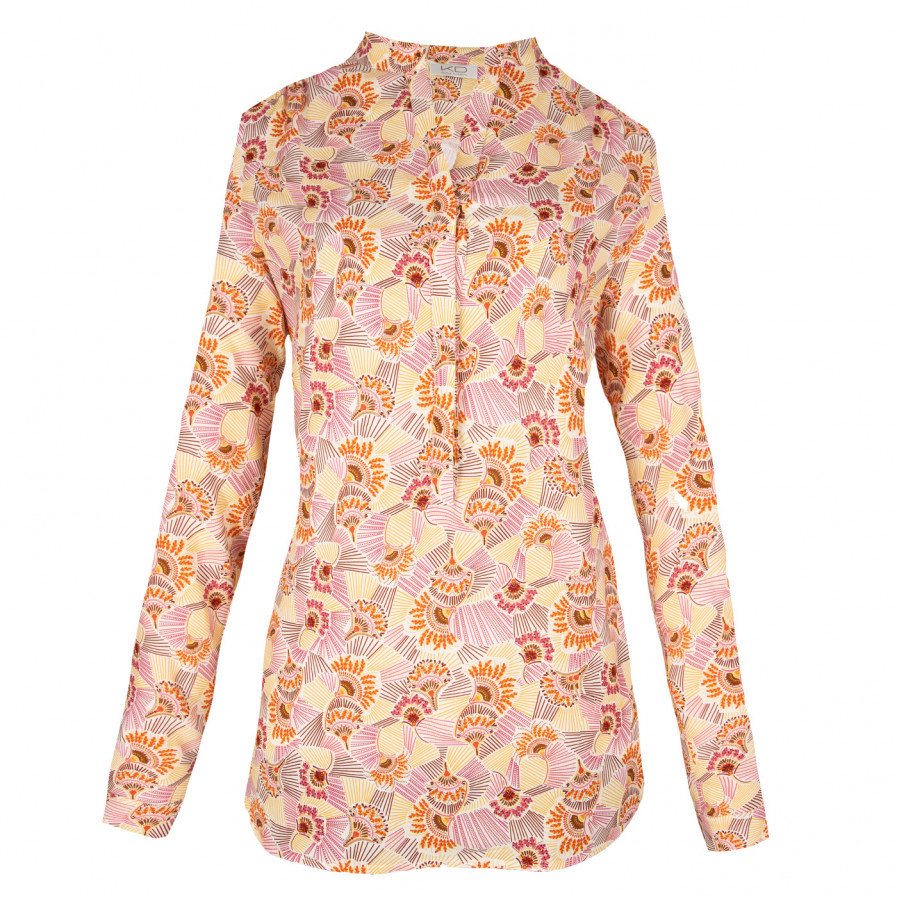 Kd Klaus Dilkrath Tippy Bluse Suby Yellow