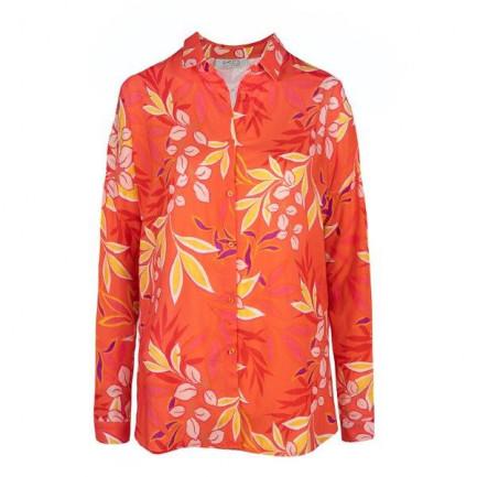Kd Klaus Dilkrath Nowa Bluse Flora Coralle