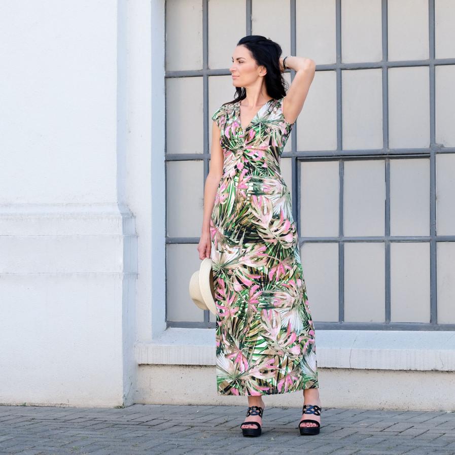 Ella Long Palm Green 1