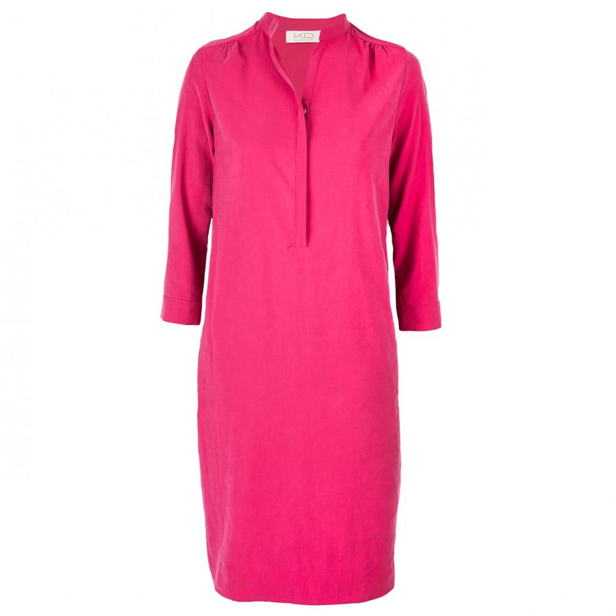 Kd Klaus Dilkrath Maja Kleid Crincel Pink