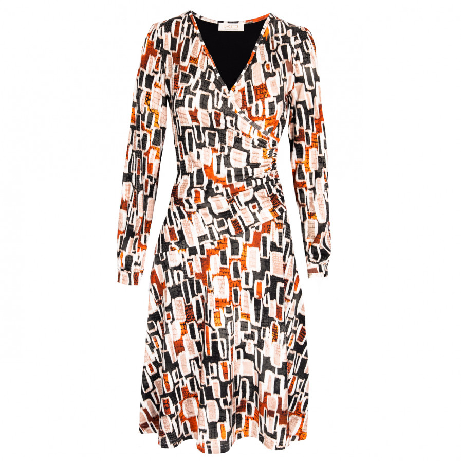 Kd Klaus Dilkrath Twingo Kleid Mood Orange
