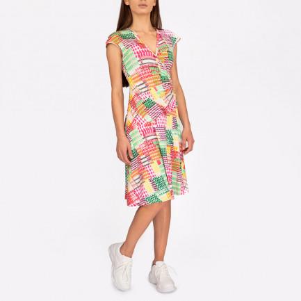 Kd Klaus Dilkrath Star Dress Pretty Mix