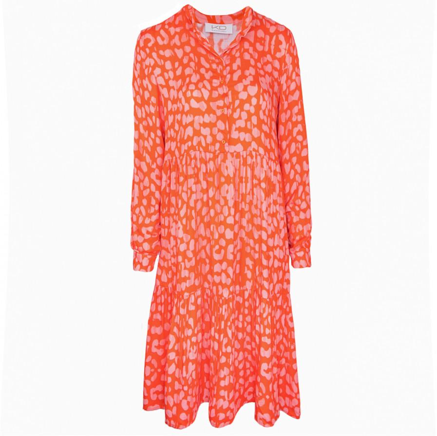 Kd Klaus Dilkrath New Mare Dress Straw Coralle