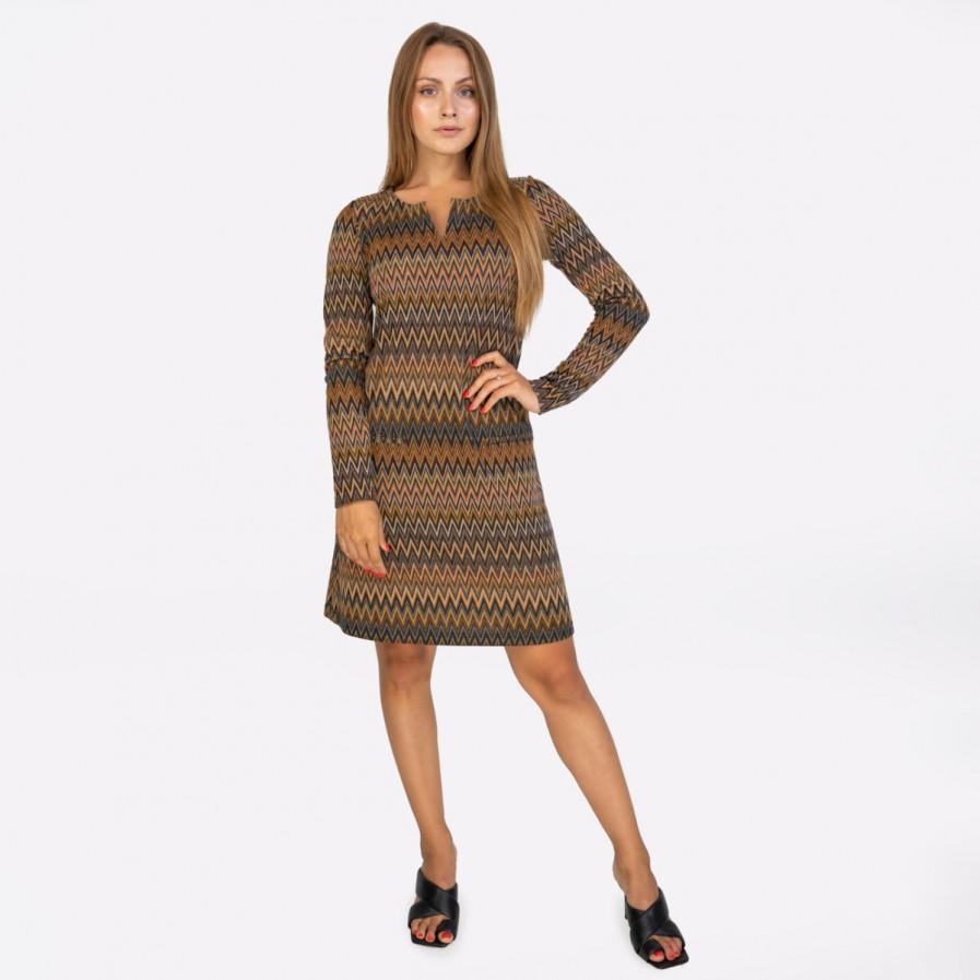 Kd Klaus Dilkrath Pocket Jac Dress Miss Choco